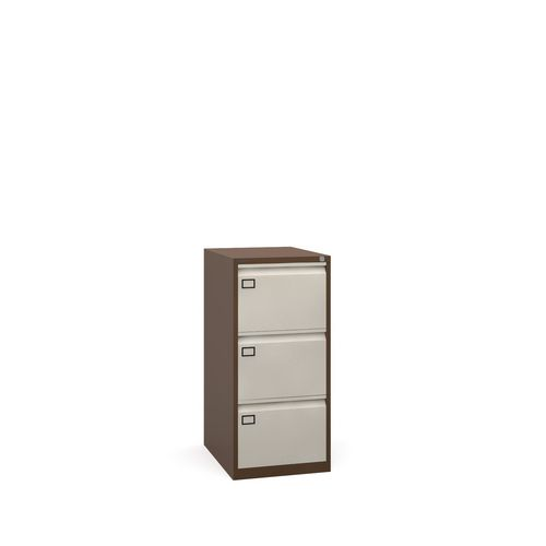 3 Drawer Filing Cabinet Coffee &Cream