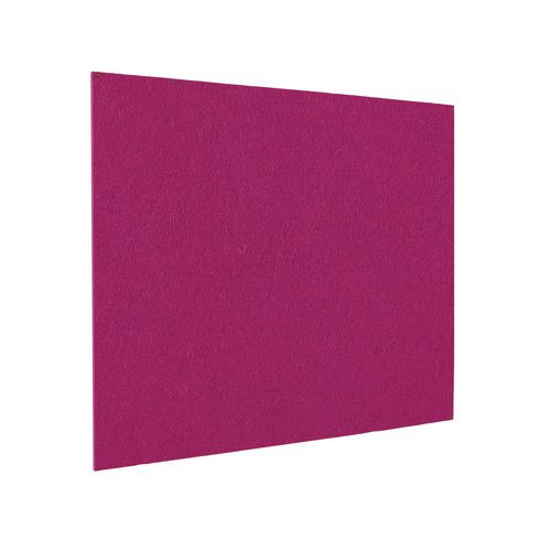 Frameless Colourplus Fabric Noticeboards 900x600mm (Hxw) Magenta