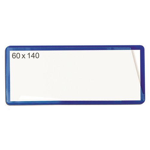 Magnetic Ticket Pouch 60X140 Pk 100 Blue