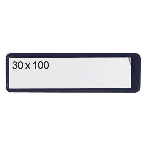 Self-Adhesive Ticket Pouch 30X100 Pk 100  Black