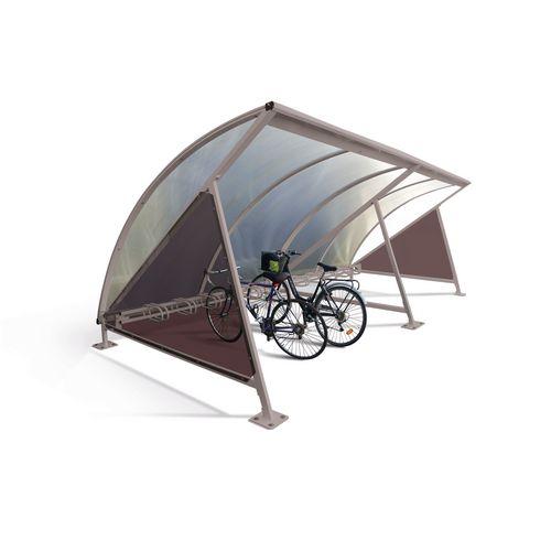 Moonshape Cycle Shelter Silk Grey Ral7044