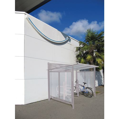 Convivale Cycle Shelter Silk Grey Ral7044