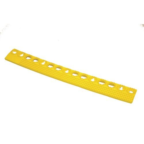 Plastex Lok Female Edge Yellow 500mm