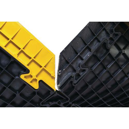 Pvc Edge 500mm Length Male Yellow