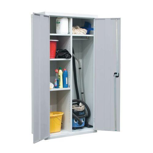 Utility Cupboard 1800.900.460 Light Grey