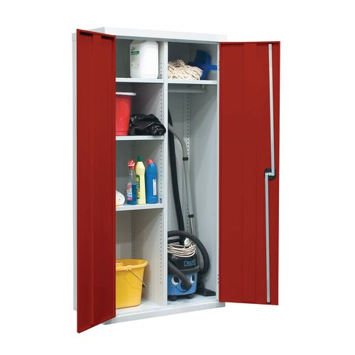 Utility Cupboard 1800.900.460 Red