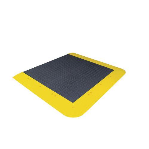 Anti-Slip Interlocking Floor Kit Anti-Fatigue Solid Deck 1680x1070mm