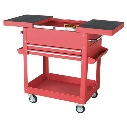 Tool &Parts Trolley 150Kg Red  Sliding Top