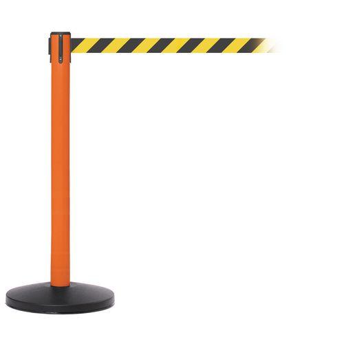 Safetymaster 450 Orange Post 3.4M Yell/Black Diagonal Belt Web Pack2