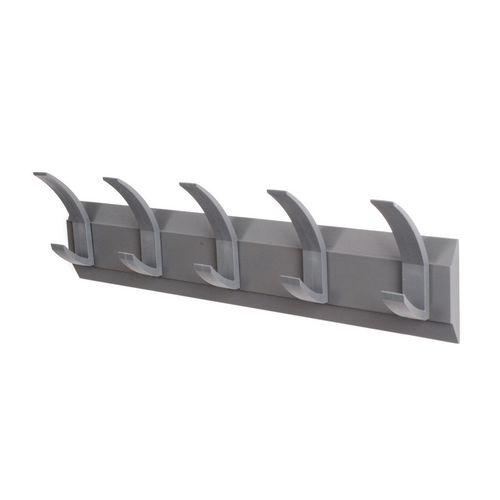 Linear 5 Wall Coat Rack