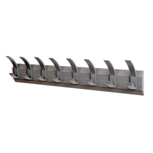Linear 8 Wall Coat Rack