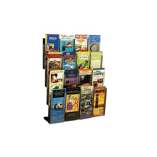 16 DL Sized Pockets Wall Mounted Display Unit Easy Assemble