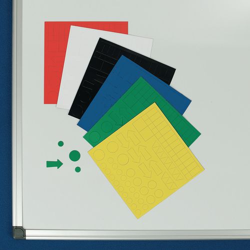 Magnetic Shapes 150X150mm Sheet Assorted 6Pack