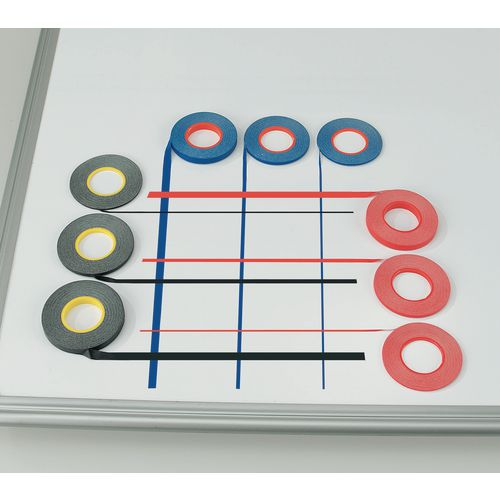 Whiteboard Gridding Tape 1.5mm Blue