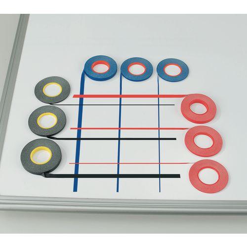 Whiteboard Gridding Tape 3mm Black