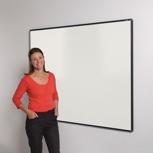 Shield Design Magnetic Whiteboard 600X900 Black Frame
