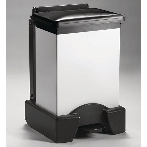 45 Litre All Plastic Removable Body Fire Retardant Sack Holder Black Lid