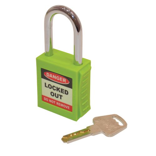 Safety Lockout Padlocks  Green (Each)