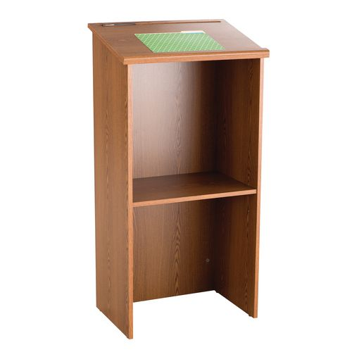 Stand Up Lectern Medium Oak (Mo)