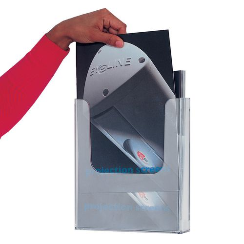 Single Pocket Literature Dispenser Size DL 1/3 A4