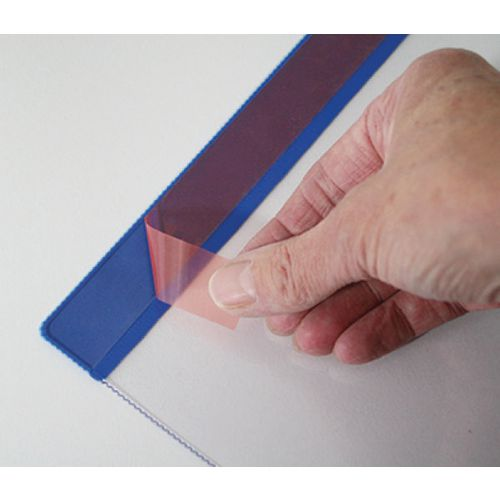 Self-Adhesive Weather Resitant Pocket A4 Vertical Pk 10