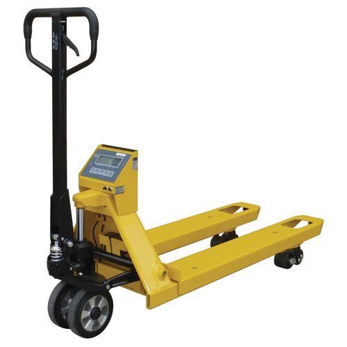 Weighing Pallet Truck &Printer Fork Width mm: 695