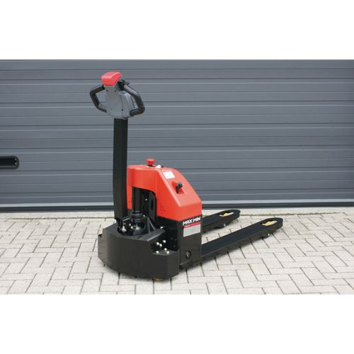 Fully Electric Pallet Truck 1500Kg Capacity 560mm Fork Width