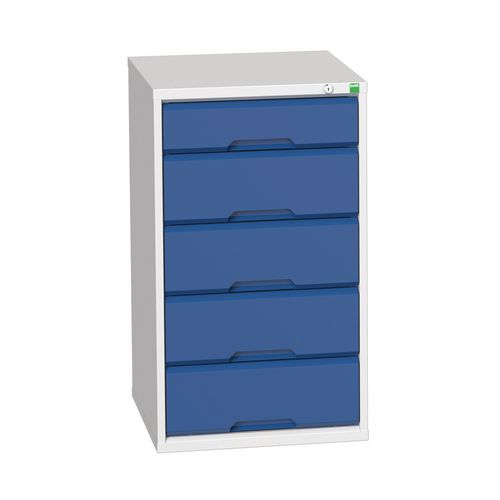 Medium Duty Drawer Cabinets 1x125mm And 4x175mm Drawers H x W x D mm: 900 x 525 x 550