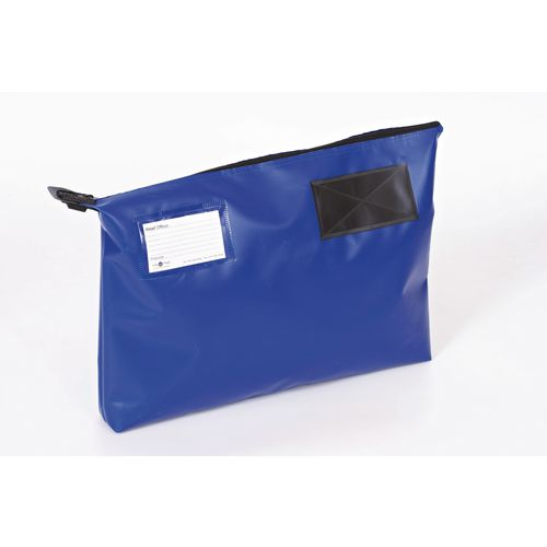 Bottom Gusset Pouch Blue 470x335x75mm