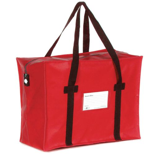 Heavy Duty Red Tamper Evident Holdall 584x406x254mm
