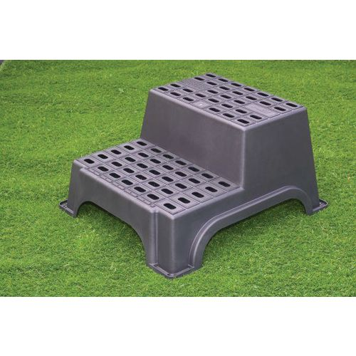 Large Double Plastic Step