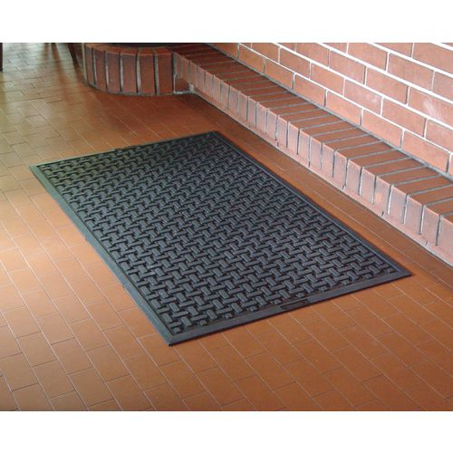 Washable Rubber Hygiene Mat For Wet Areas 860mmx600mm