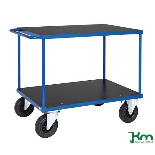 Heavy Duty Table Top Trolley. Shelf Size LxW 1200x800mm