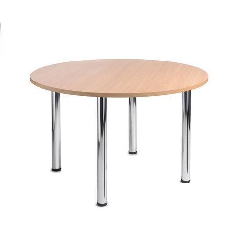 Turin Round Meeting Leisure Table Beech H:725 Dia:1000