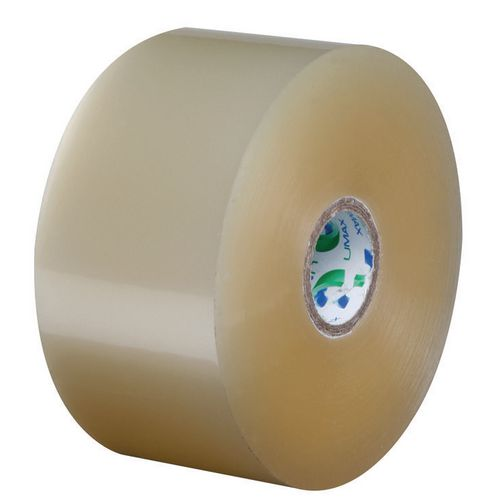 Umax Packing Tape Polypropylene Low Noise 48mmx150Mtr 25Mu Clear 25mm Core