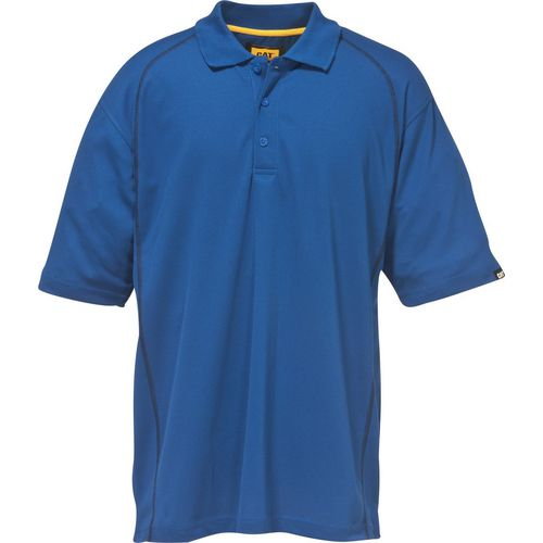 Advanced Performance Polo Shirt Small Bright Blue
