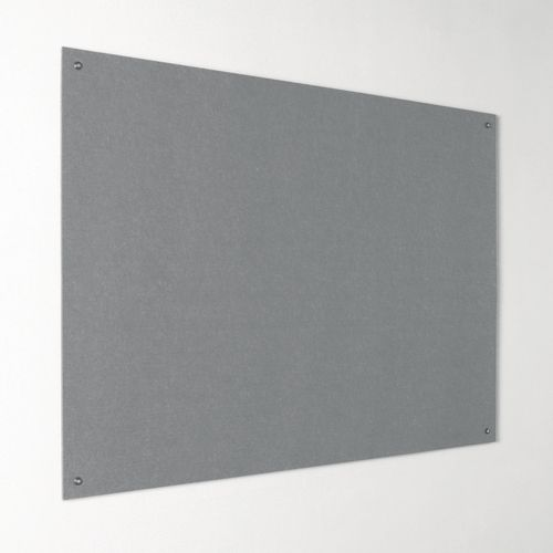 Eco-Colour Frameless Resist-A-Flame Board 600x900mm Grey