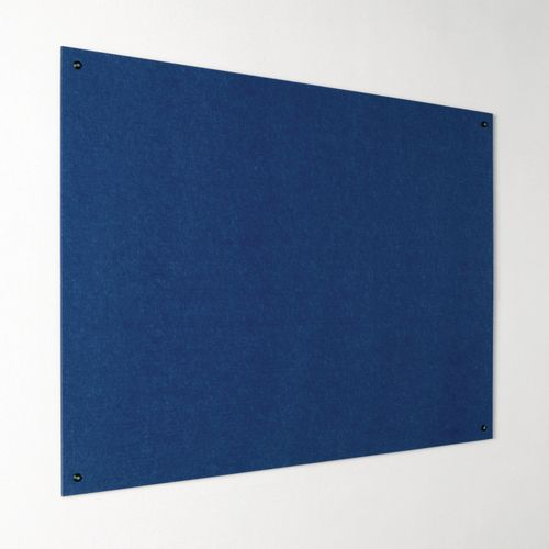 Eco-Colour Frameless Resist-A-Flame Board 1200x1200mm Blue