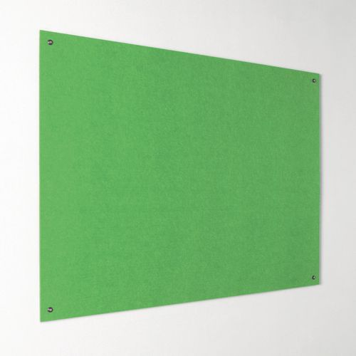 Eco-Colour Frameless Resist-A-Flame Board 1200x1200mm Apple Green