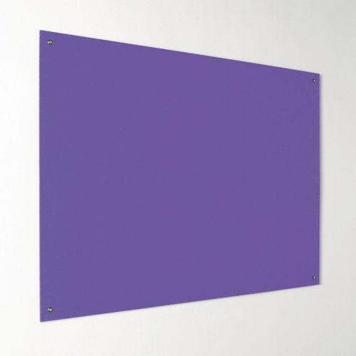 Eco-Colour Frameless Resist-A-Flame Board 1200x1500mm Purple