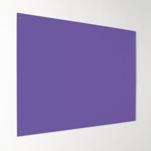Eco-Colour Frameless Resist-A-Flame Board 1200x1800mm Purple