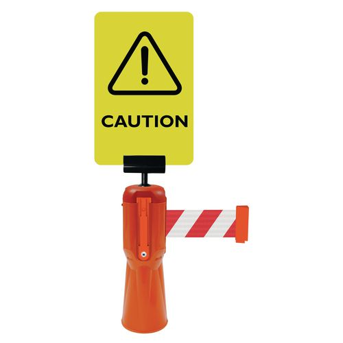Tensacone Sign Holder And Caution Sign
