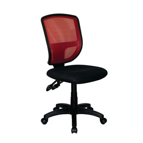 Nexus 2 Lever Mesh Ops Chair -Red