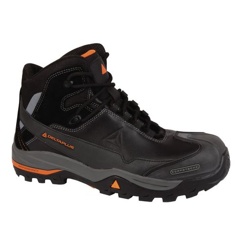All Terrain Premium Metal Free Leather Hiker Black Uk Size 11 Eu Size 46