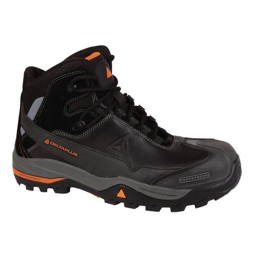 All Terrain Premium Metal Free Leather Hiker Black Uk Size 12 Eu Size 47