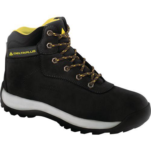 Black Nubuck Leather Hiker Boot Uk Size 7 Eu Size 41