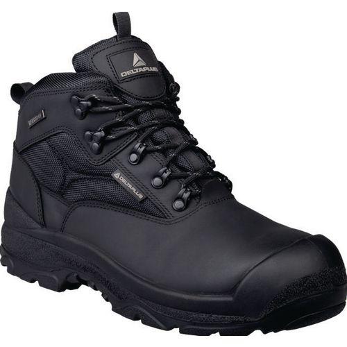 Samy Premium Leather Hiker Black  Uk Size 13 Eu Size 48