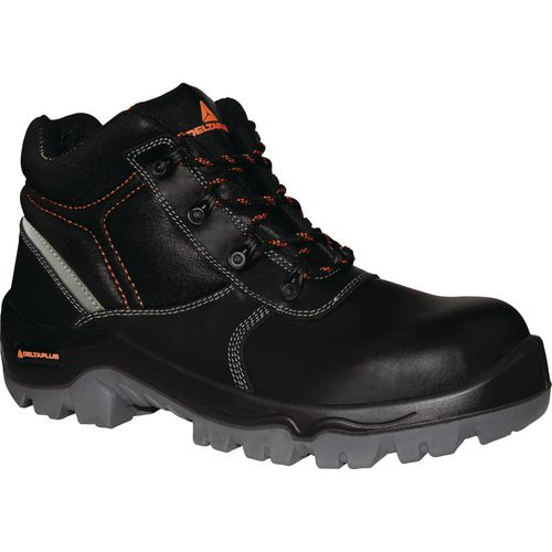 Phoenix Smooth Leather Water Resistant Hiker Black Uk Size 10 Eu Size 44