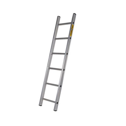 Single Aluminium Ladder 6 Tread En131 150Kg Capacity