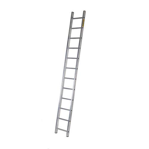 Single Aluminium Ladder 13 Tread En131 150Kg Capacity